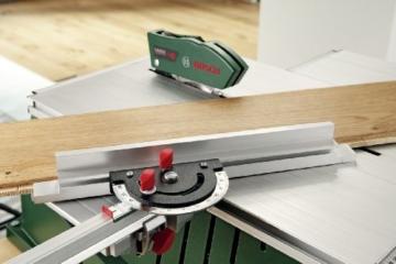 Bosch Unterflur-Zugsäge PPS 7 S incl. Tischerweiterung mit Stütze