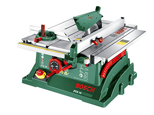 Gut gemocht ▷ Erfahrung: Bosch Tischkreissäge PTS 10 Unterflurzugsäge Test AS47